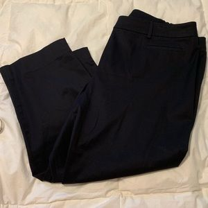 TALBOTS The Perfect Crop Petite Crop Pants 18P